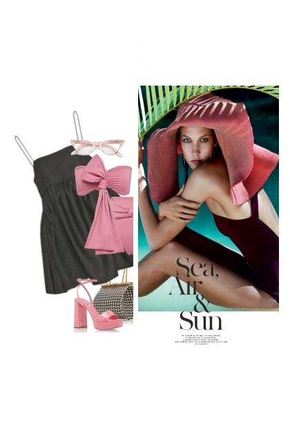 Le Rose D'Été / The Pink Of Summer- Combinazione di moda
