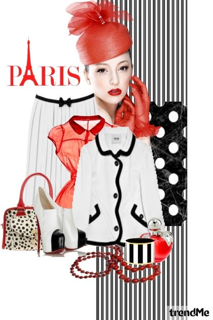 Paris- Fashion set