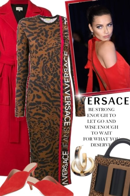Be Strong Enough with Versace- Fashion set