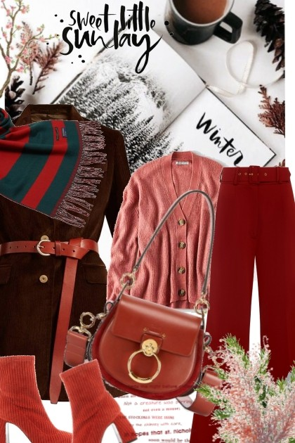Sweet Winter Sunday- Fashion set