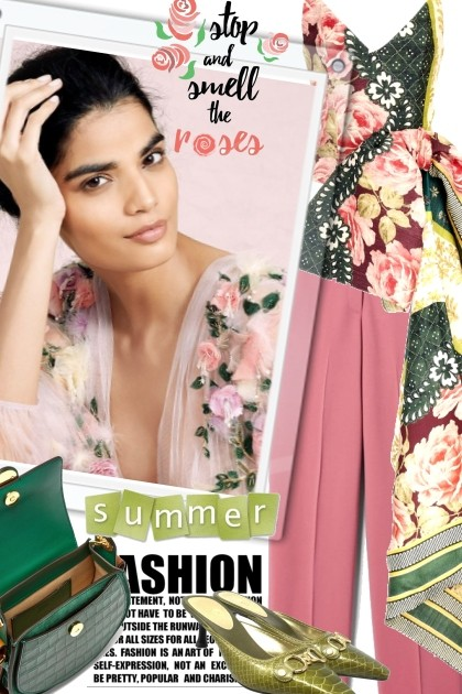 Stop and Smell the Roses- Fashion set