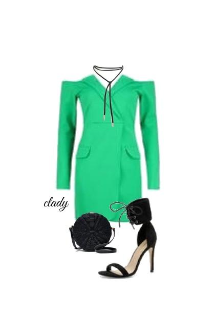 green- Fashion set