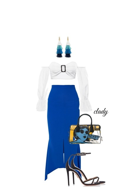 blu- Fashion set