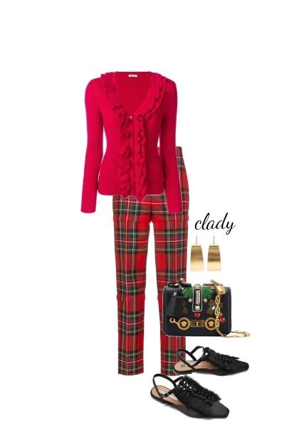 plaid- Fashion set