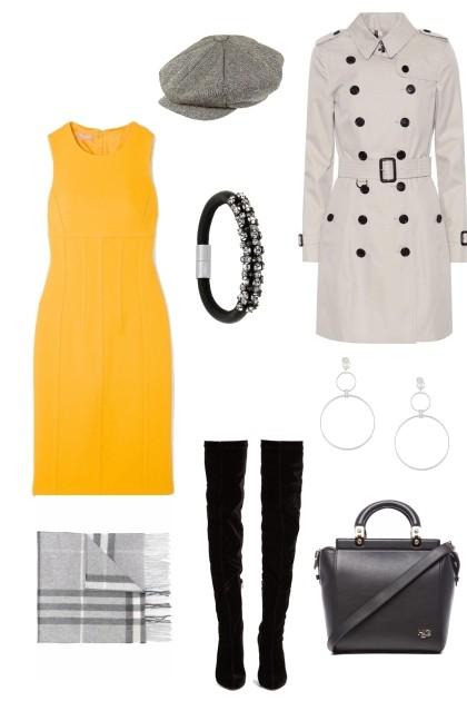 Ахромат желтый цвет- Fashion set