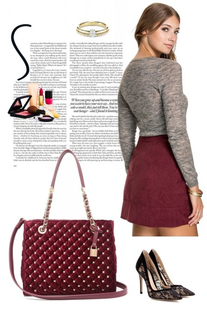 Scarlet Fashion Rhinestone - Модное сочетание