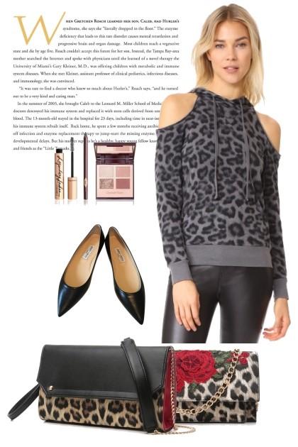 Fashion Leopard- Modna kombinacija