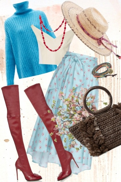 Country bohemian - Fashion set