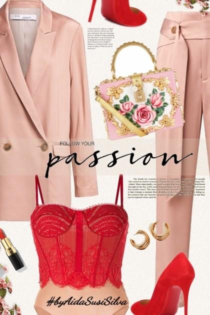 Passion Look- Modna kombinacija