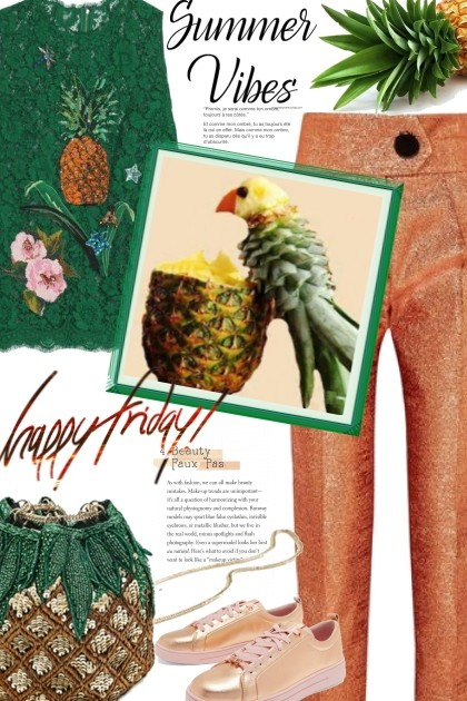Summer Vibes on Friday!- Fashion set