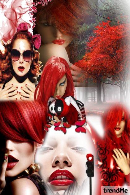 Redhead- Fashion set