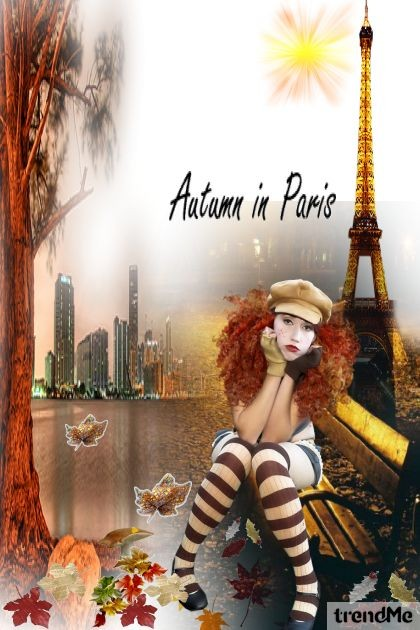 Autumn in Paris..- Fashion set