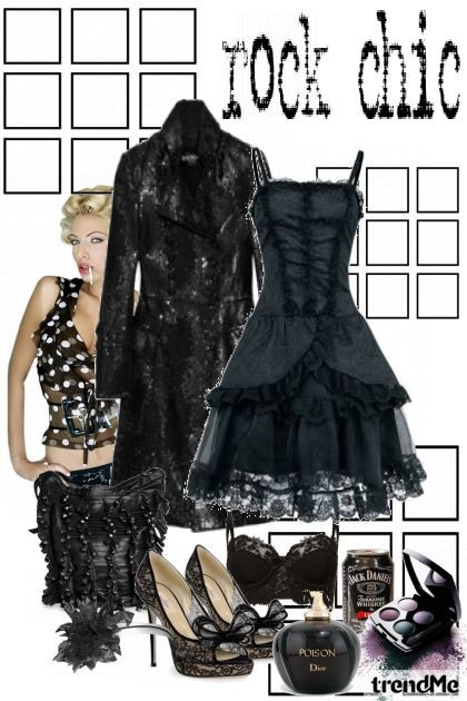 Rock chic- Fashion set