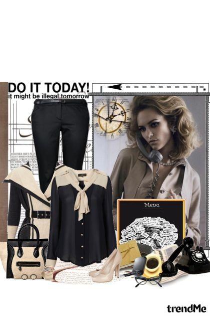 Business look!- Fashion set