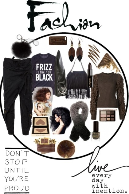 FRIZZ IS THE NEW BLACK- Fashion set