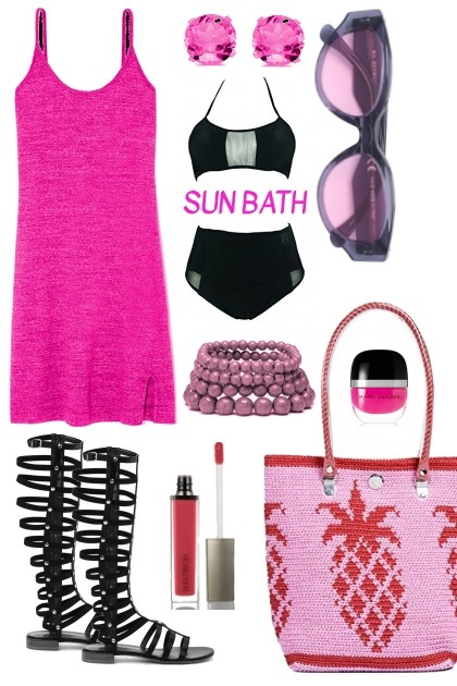 SUN BATH- Fashion set