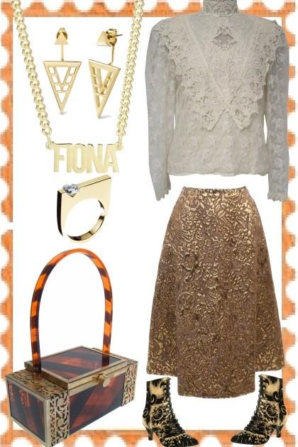 MISS FIONA- Fashion set