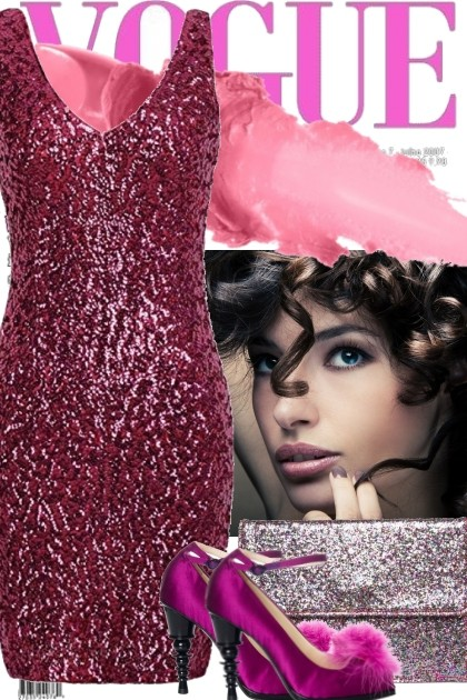 GLITZY NIGHT OUT- Fashion set