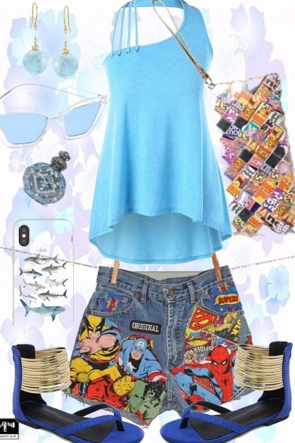 CANDY AND COMICS- Fashion set