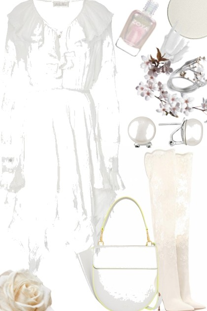 WHITE FADE OUT- Fashion set