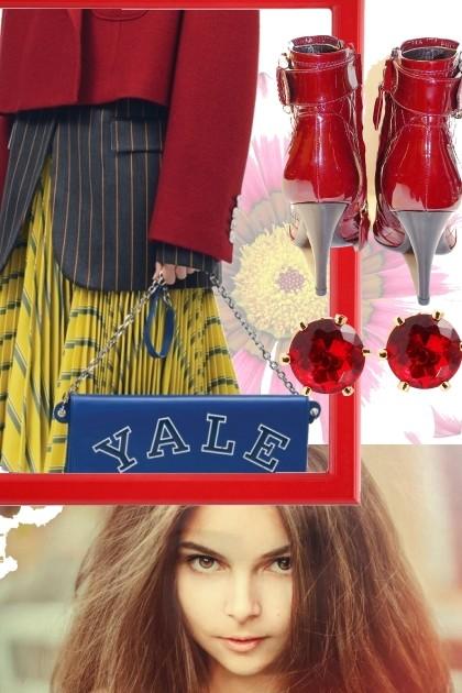 CALVIN KLEIN SKIRT - Модное сочетание