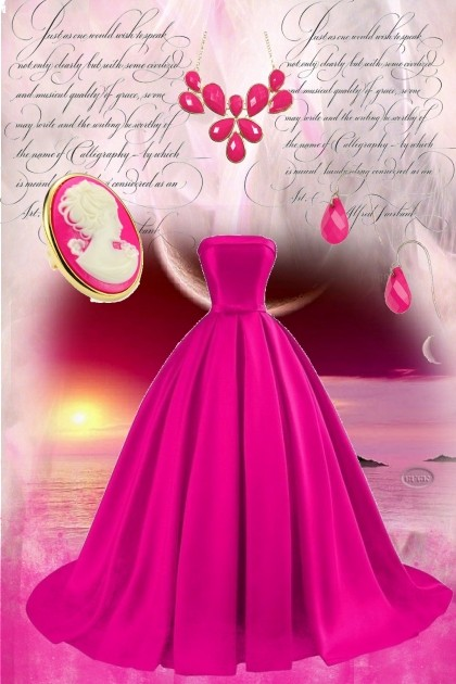 Pink Elegant- Fashion set