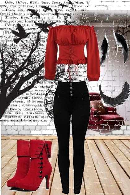 Red 1- Fashion set