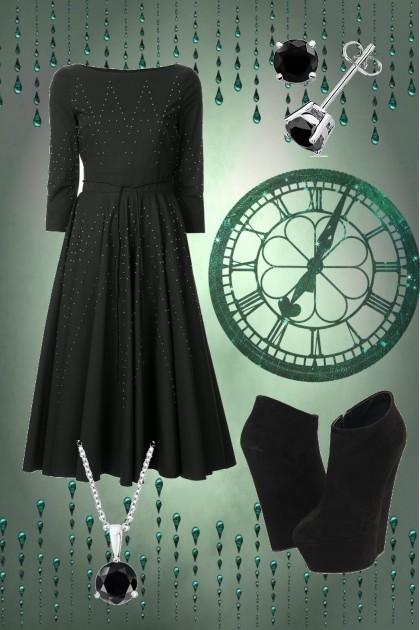 Green time- Fashion set
