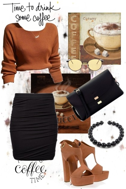 Coffee Time- Fashion set