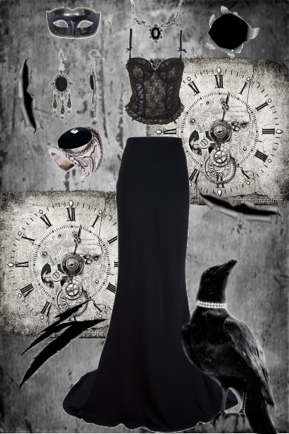 Gothic Elegant- Fashion set