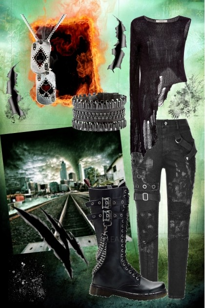 Apocalyptic World- Модное сочетание
