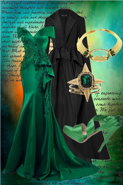 Emerald Green- Fashion set
