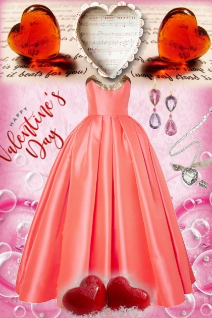 Happy Valentine's Day- Fashion set