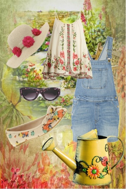 Head to the garden- Fashion set