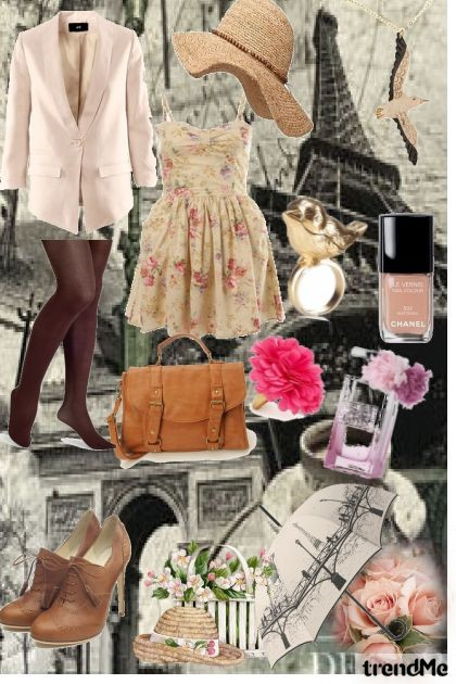 Parisian Vintage- Fashion set
