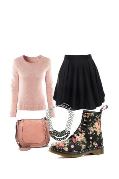 Floral Doc Martens- Fashion set