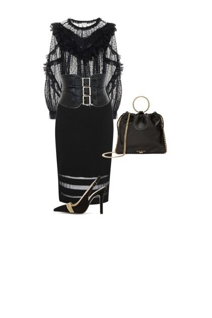 black beauty- Fashion set