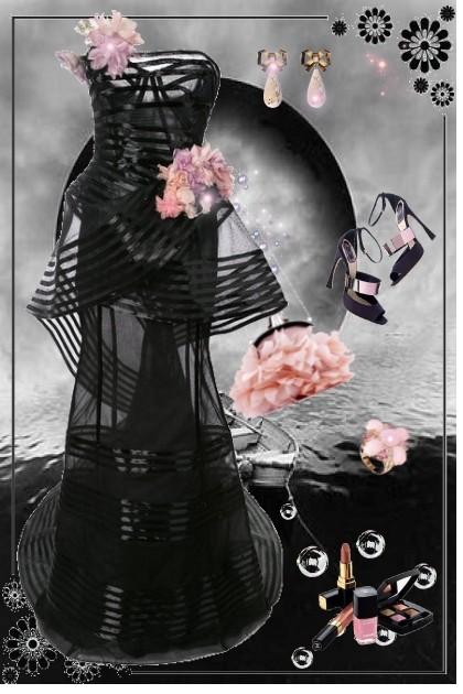 Black Moon- combinação de moda