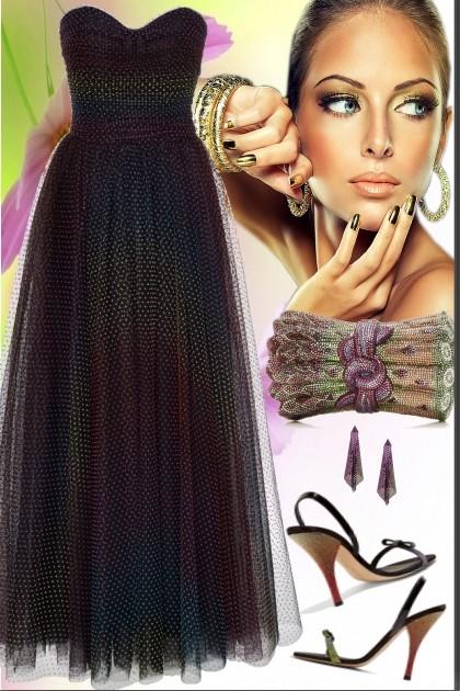 Rainbow  Dress- Fashion set