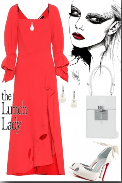 The lunch lady- Fashion set