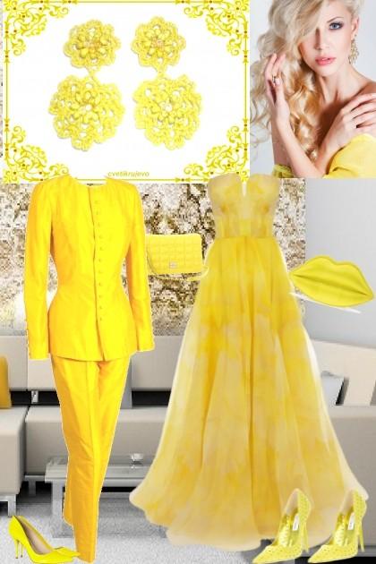 мимоза- Fashion set