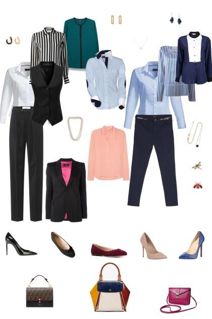 Базовый минимум в офис- Fashion set