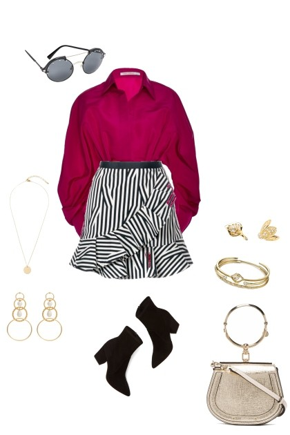 zebra- Fashion set