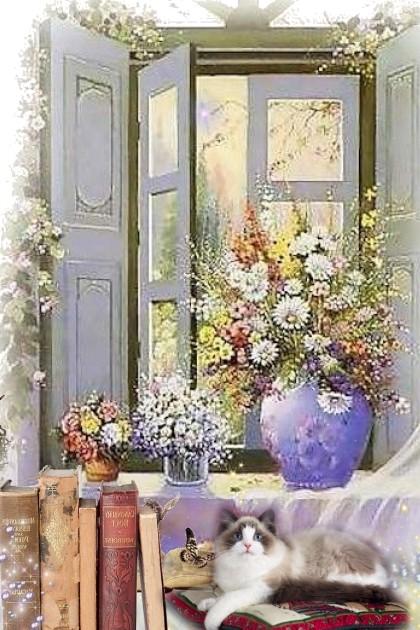 Summer Flowers- Fashion set