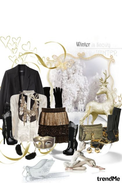 sophisticated winter- Fashion set