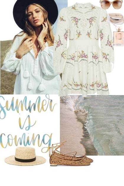 Romantic Summer- Fashion set