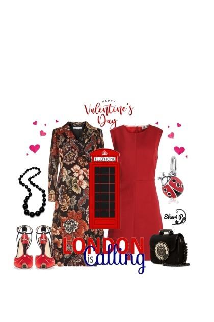 London Calling Valentine- Modna kombinacija