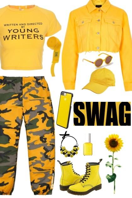 Something about yellow...- Fashion set