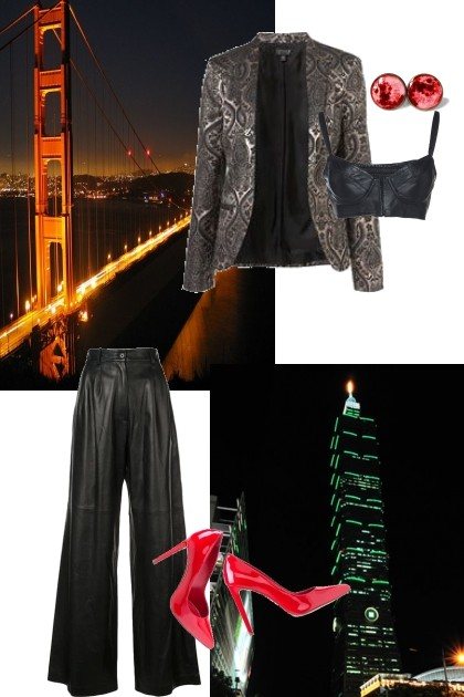 weekend (gorgeous, midnight, new year's eve)- Fashion set