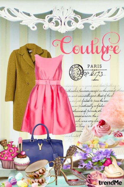 Paris Couture- Fashion set